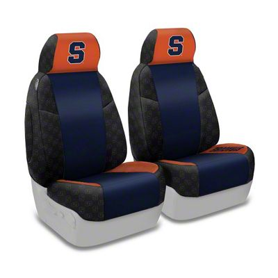 Coverking Syracuse University Front Seat Covers (97-06 Jeep Wrangler TJ)