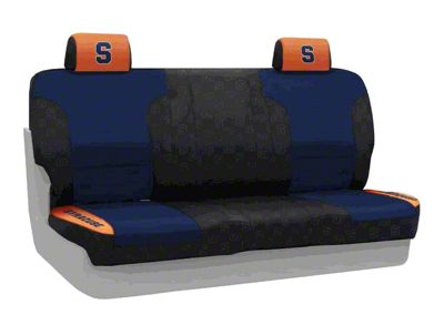 Coverking Syracuse University Rear Seat Covers (07-18 Jeep Wrangler JK)