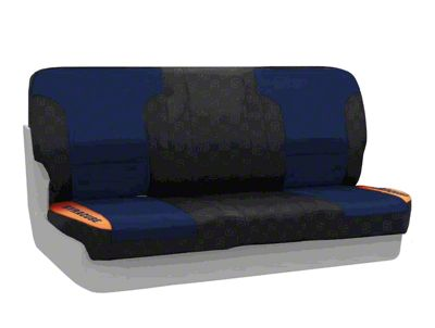 Coverking Syracuse University Rear Seat Covers (87-95 Jeep Wrangler YJ)