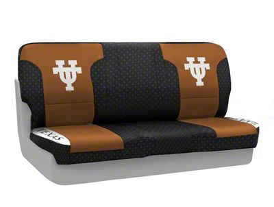 Coverking Texas at Austin University Rear Seat Covers (87-95 Jeep Wrangler YJ)