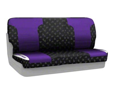 Coverking Texas Christian University Rear Seat Covers (97-06 Jeep Wrangler TJ)