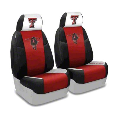 Coverking Texas Tech University Front Seat Covers (97-06 Jeep Wrangler TJ)