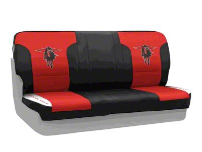 Coverking Texas Tech University Rear Seat Covers (87-95 Jeep Wrangler YJ)