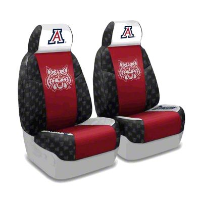 Coverking University of Arizona Front Seat Covers (87-95 Jeep Wrangler YJ)
