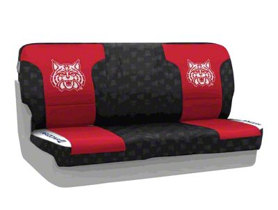 Coverking University of Arizona Rear Seat Covers (87-95 Jeep Wrangler YJ)