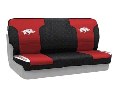 Coverking University of Arkansas Rear Seat Covers (87-95 Jeep Wrangler YJ)