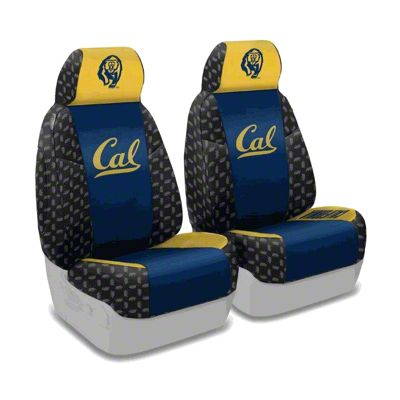 Coverking University of California Berkeley Front Seat Covers (87-95 Jeep Wrangler YJ)