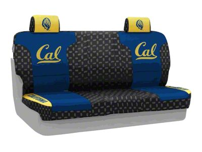 Coverking University of California Berkeley Rear Seat Covers (07-18 Jeep Wrangler JK)
