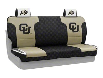 Coverking University of Colorado Rear Seat Covers (07-18 Jeep Wrangler JK)