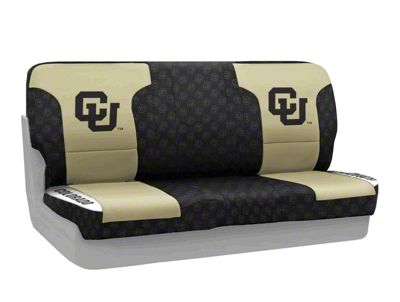 Coverking University of Colorado Rear Seat Covers (87-95 Jeep Wrangler YJ)