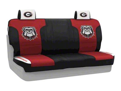 Coverking University of Georgia Rear Seat Covers (07-18 Jeep Wrangler JK)