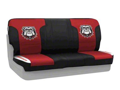 Coverking University of Georgia Rear Seat Covers (87-95 Jeep Wrangler YJ)