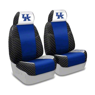 Coverking University of Kentucky Front Seat Covers (87-95 Jeep Wrangler YJ)