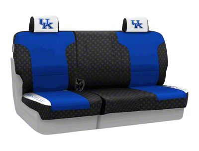 Coverking University of Kentucky Rear Seat Covers (07-18 Jeep Wrangler JK)
