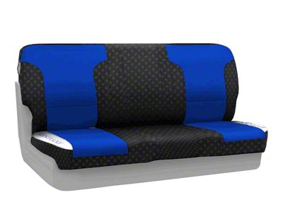 Coverking University of Kentucky Rear Seat Covers (97-06 Jeep Wrangler TJ)