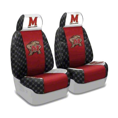 Coverking University of Maryland Front Seat Covers (87-95 Jeep Wrangler YJ)