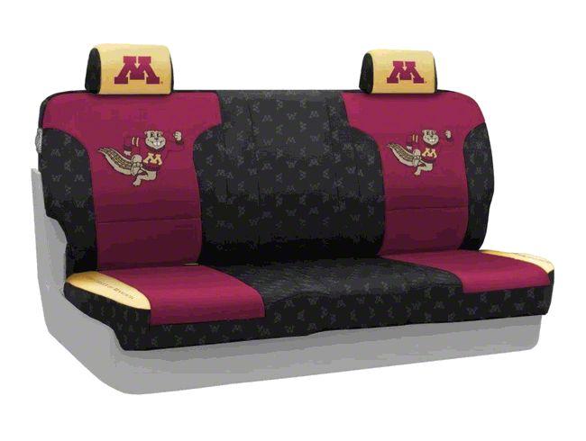 Coverking University of Minnesota Rear Seat Covers (07-18 Jeep Wrangler JK)