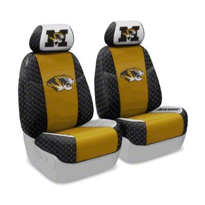 Coverking University of Missouri Front Seat Covers (07-18 Jeep Wrangler JK)