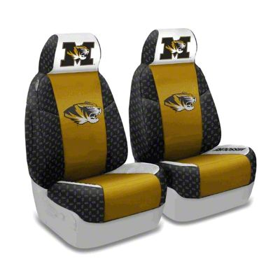 Coverking University of Missouri Front Seat Covers (97-06 Jeep Wrangler TJ)