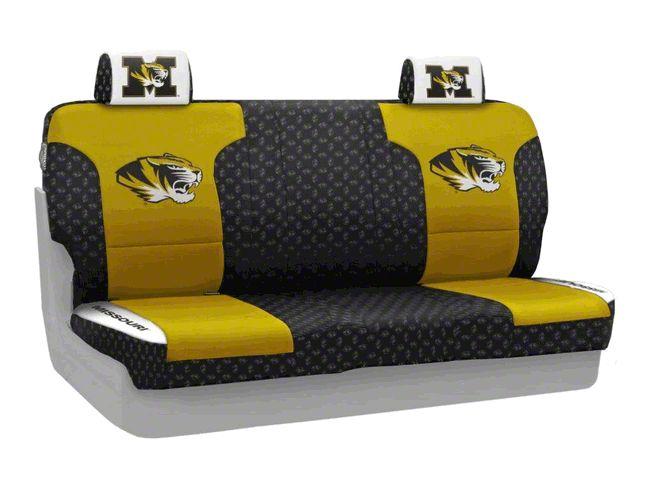 Coverking University of Missouri Rear Seat Covers (07-18 Jeep Wrangler JK)