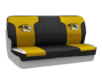 Coverking University of Missouri Rear Seat Covers (87-95 Jeep Wrangler YJ)