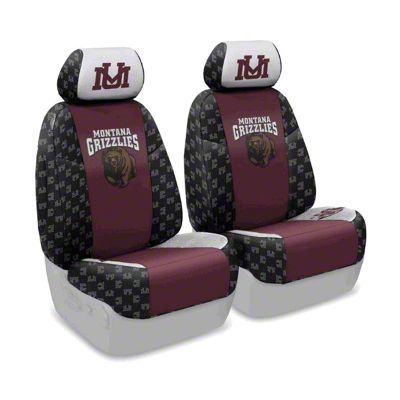 Coverking University of Montana Front Seat Covers (07-18 Jeep Wrangler JK)