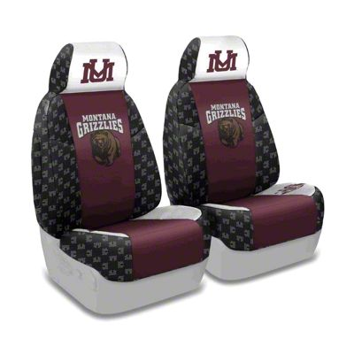 Coverking University of Montana Front Seat Covers (87-95 Jeep Wrangler YJ)