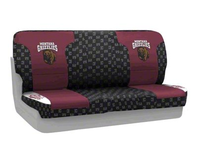 Coverking University of Montana Rear Seat Covers (87-95 Jeep Wrangler YJ)