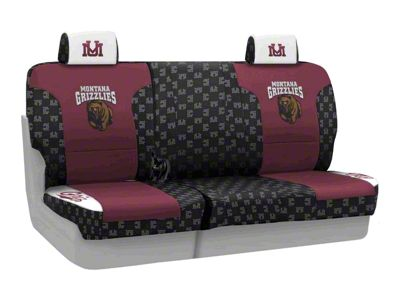 Coverking University of Montana Rear Seat Covers (07-18 Jeep Wrangler JK)