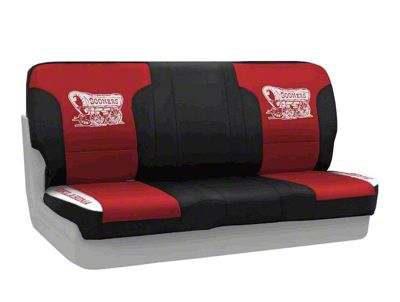Coverking University of Oklahoma Rear Seat Covers (87-95 Jeep Wrangler YJ)