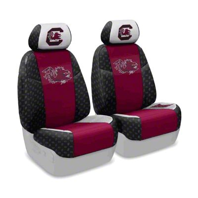 Coverking University of South Carolina Front Seat Covers (97-06 Jeep Wrangler TJ)