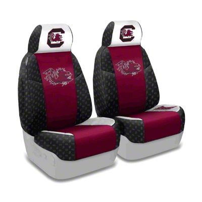Coverking University of South Carolina Front Seat Covers (87-95 Jeep Wrangler YJ)