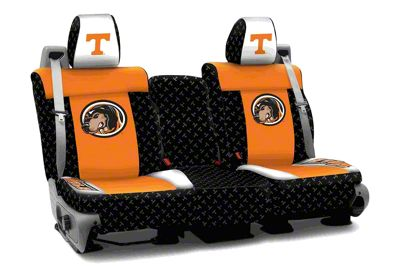 Coverking University of Tennessee Rear Seat Covers (07-18 Jeep Wrangler JK)