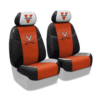 Coverking University of Virginia Front Seat Covers (07-18 Jeep Wrangler JK)