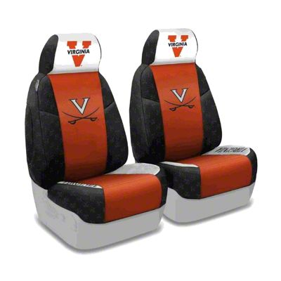 Coverking University of Virginia Front Seat Covers (87-95 Jeep Wrangler YJ)