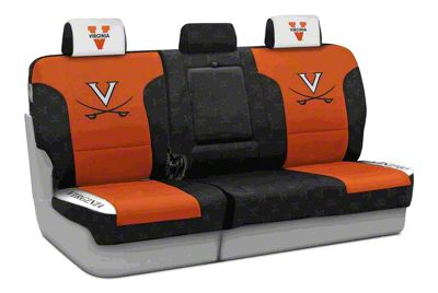 Coverking University of Virginia Rear Seat Covers (97-06 Jeep Wrangler TJ)