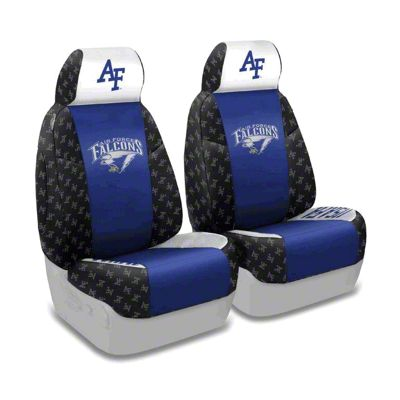 Coverking U.S. Air Force Academy Front Seat Covers (87-95 Jeep Wrangler YJ)