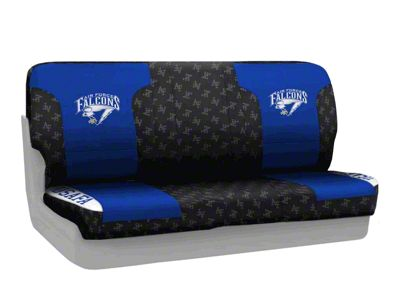 Coverking U.S. Air Force Academy Rear Seat Covers (97-06 Jeep Wrangler TJ)