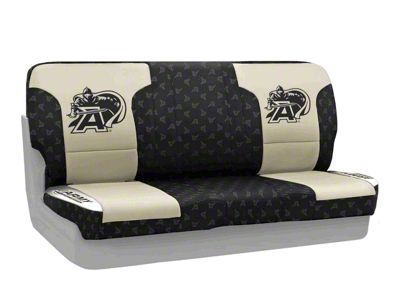 Coverking U.S. Military Academy Rear Seat Covers (87-95 Jeep Wrangler YJ)