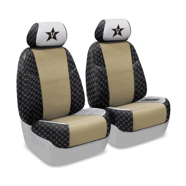Coverking Vanderbilt University Front Seat Covers (07-18 Jeep Wrangler JK)