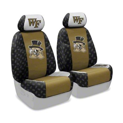 Coverking Wake Forest University Front Seat Covers (07-18 Jeep Wrangler JK)