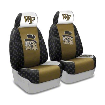 Coverking Wake Forest University Front Seat Covers (97-06 Jeep Wrangler TJ)