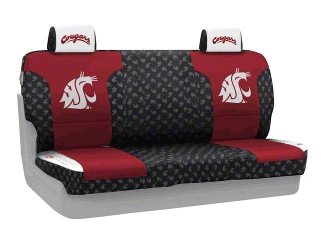 Coverking Washington State University Rear Seat Covers (07-18 Jeep Wrangler JK)