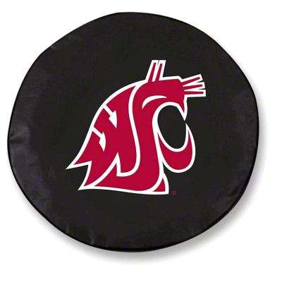 Washington State Spare Tire Cover - Black (87-18 Jeep Wrangler YJ, TJ, JK & JL)