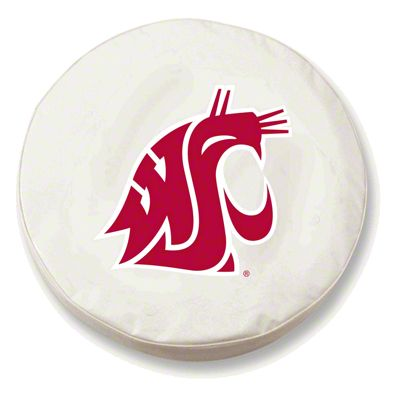 Washington State Spare Tire Cover - White (87-18 Jeep Wrangler YJ, TJ, JK & JL)