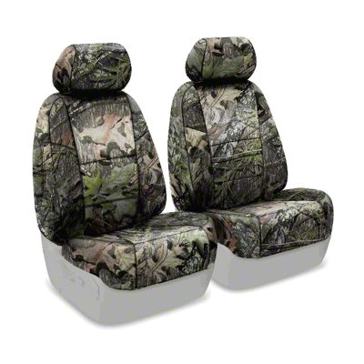 Coverking Mossy Oak Neosupreme Front Seat Covers - Obsession (07-18 Jeep Wrangler JK)
