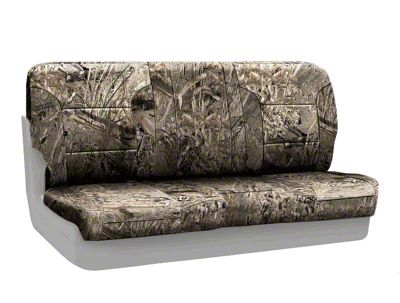 Coverking Mossy Oak Neosupreme Rear Seat Covers - Duck Blind (87-95 Jeep Wrangler YJ)