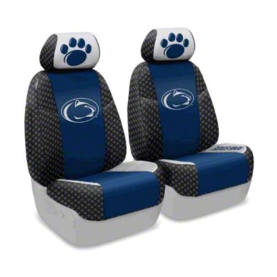 Coverking Penn State University Front Seat Covers (07-18 Jeep Wrangler JK)