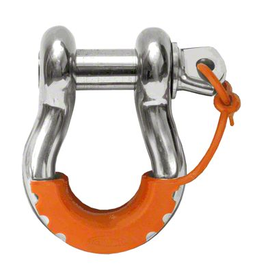 Daystar D-Ring Locking Isolators - Fluorescent Orange