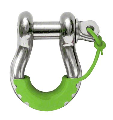 Daystar D-Ring Locking Isolators - Fluorescent Green